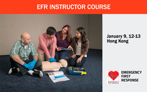 EFR Instructor Course - January 2019