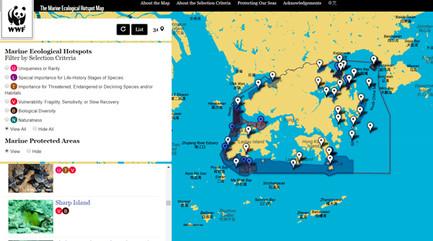 Marine Ecological Hotspots in Hong Kong