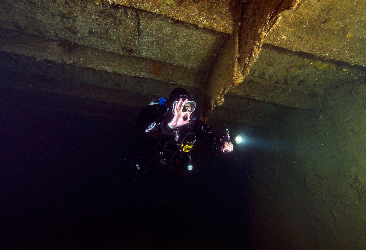 Certified Wreck Diver