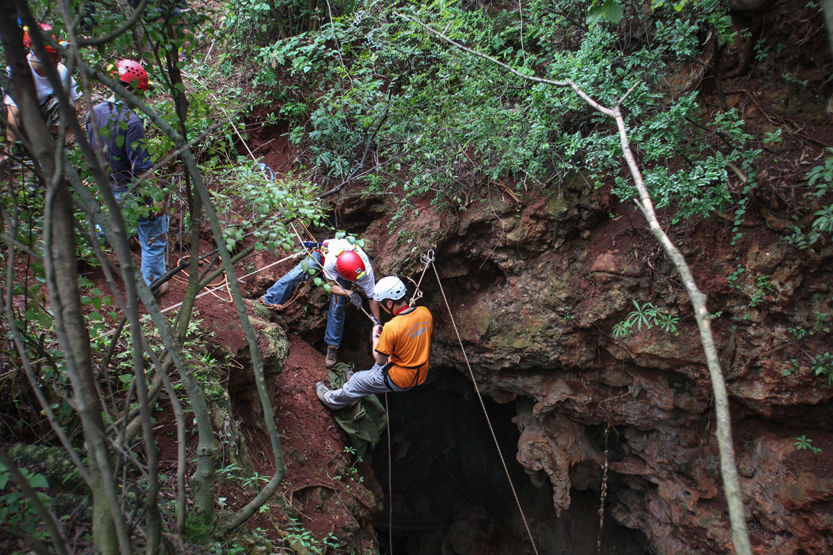 Crash Course on Abseiling