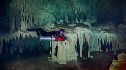 Cave Diver at Nohoch Nah Chich