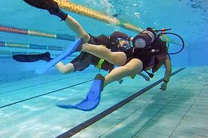 體驗水肺潛水 / 嘗試潛水吧 ! Discover Scuba Diving program at Chi Fu swimming pool, HK Island