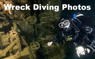 Pro-Diver Development's wreck diving photos.