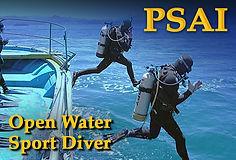 PSAI Open Water Sport Diver