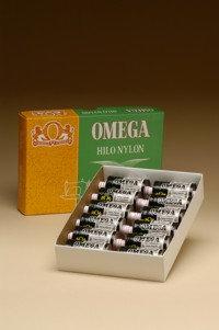 Hilo Nylon Omega 8, Caja con 10 tubos 300m