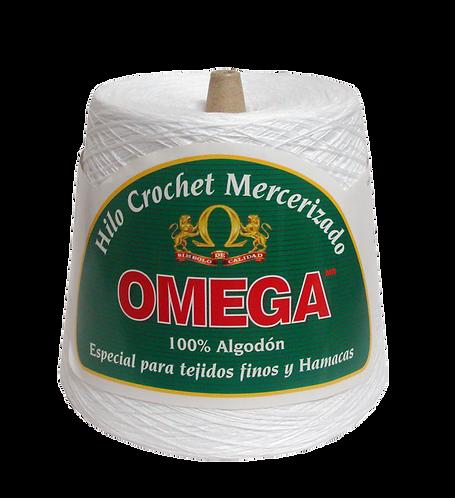 Hilo Crochet Omega No. 10, No. 20 y 30