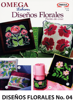 No. 4 Diseños Florales