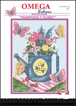No. 21 Mariposas y Flores