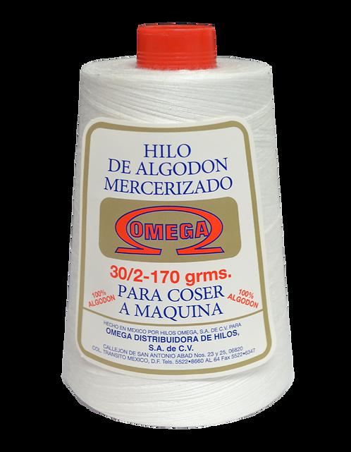 Hilo de Algodón,  Cono 4000 m (170 gr.)