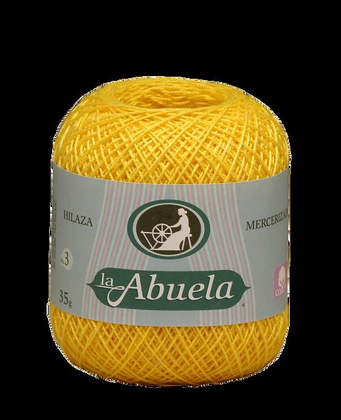 Hilaza La Abuela No. 3, Bola con 35 gr., en caja