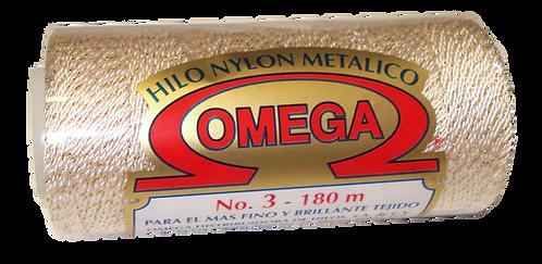 NYLON OMEGA  No.3 METALICO
