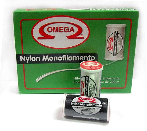 Nylon Monofilamento 008 Omega, Caja