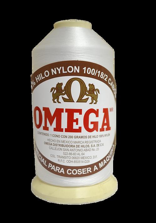 Nylon Omega  Cono 200 gr. 100/2