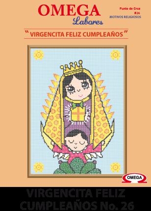 No 26 Virgencita Feliz Cumpleaños