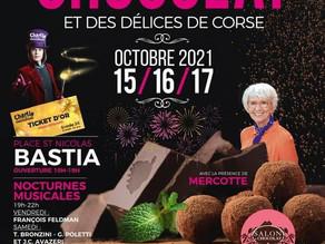 Corse GSM au Salon du Chocolat de Bastia !