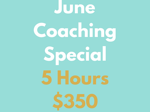 June Coaching Special