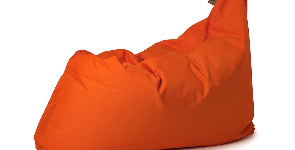 bean bag adulte orange vue de côté