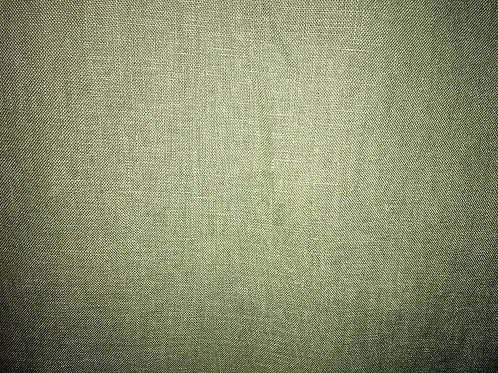 Cactus Green Washed Linen Fabric Upholstery