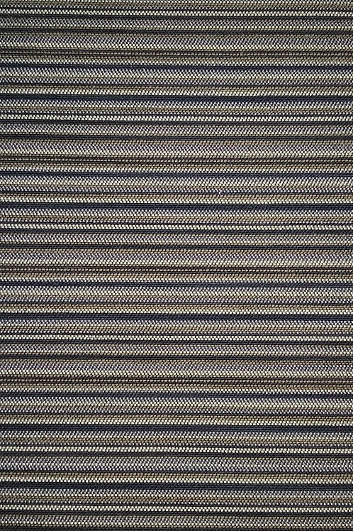 Blue Tan Gray Brown Stripes Fabric Upholstery