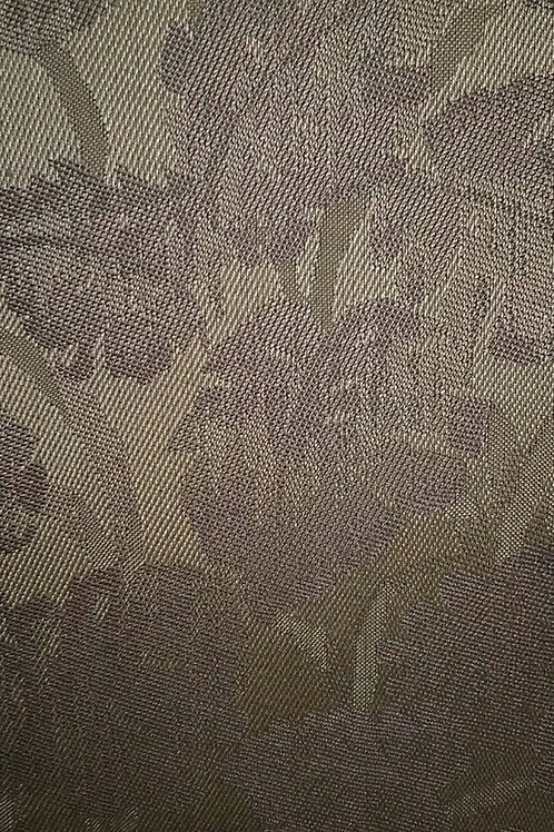 Brown Leaf Print Fabric Upholstery