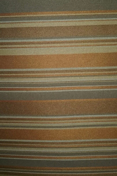 Gold Tan Stripes Fabric Upholstery