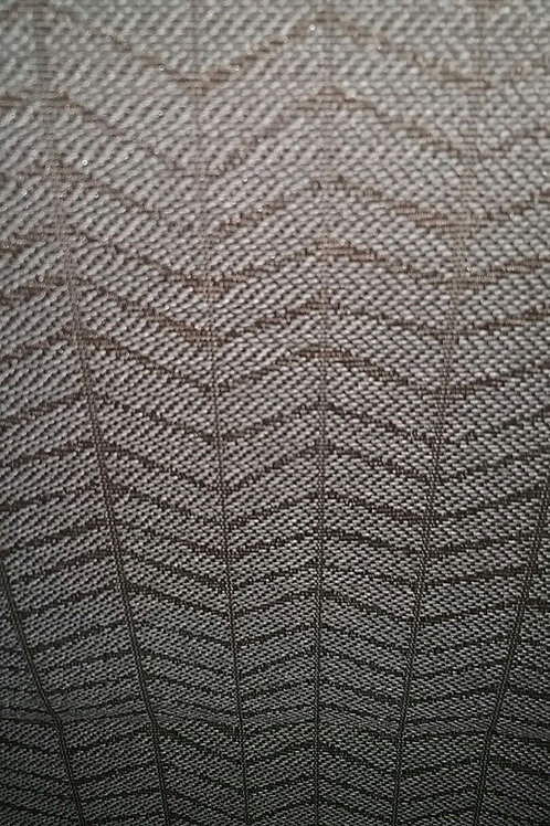 Gray Blue with Brown Lines Fabric Upholstery