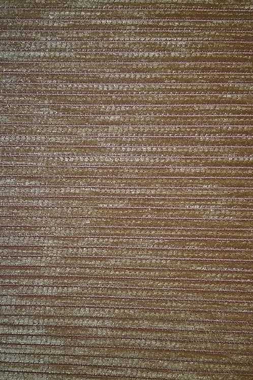Gold With Orange Stripes Fabric Upholstery