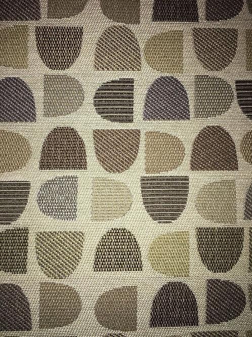Geometric Shaped Fabric Upholstery