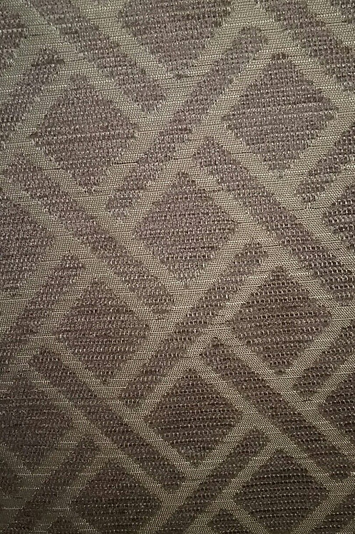 Light Gold Brown Square Print Fabric Upholstery