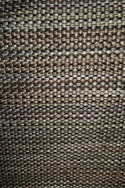 Brown Tan Blue Black Specks Fabric Upholstery
