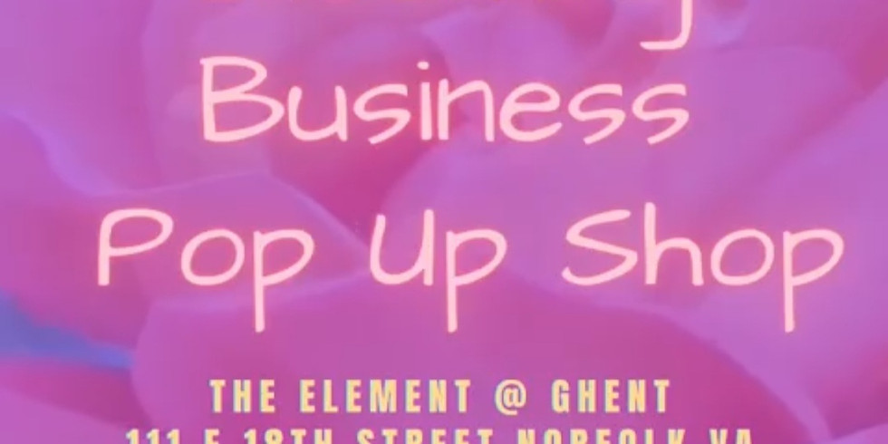 Blooming Business Pop-Up Shop