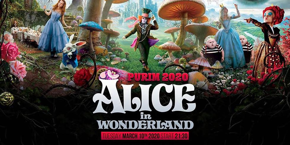 Tel Aviv | Alice In Wonderland Purim feast