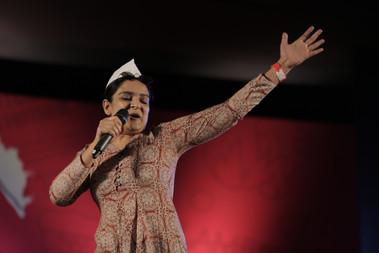 Kaneez Surkha photographed  by Maitreyi More