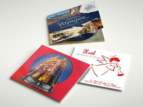 PACK Bleu Blanc Rouge / 3 CDs des Petits Chanteurs de France