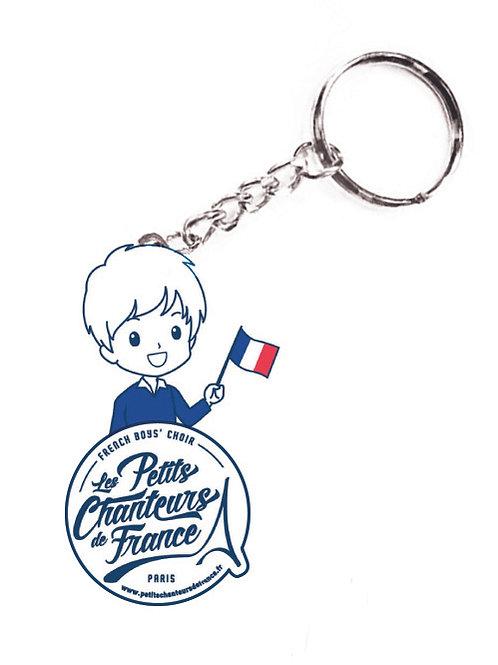 Porte-clefs des Petits Chanteurs de France