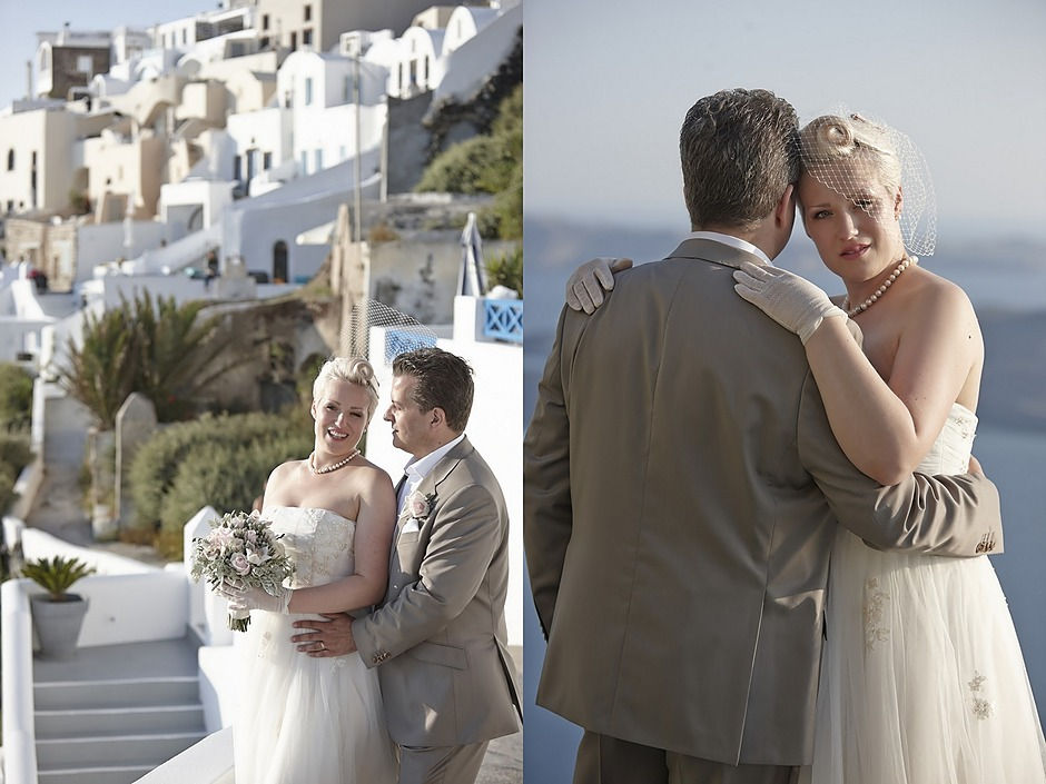 Our fantastic bride Marilyn and our Greek groom George Our