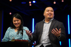 Pastor Teng and his wife.