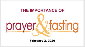 the importance of prayer and fasting