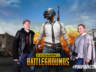 PAX East Green Screen Booth - PUBG