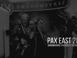 PAX East - Trading Card Photo Booth with Shadowverse