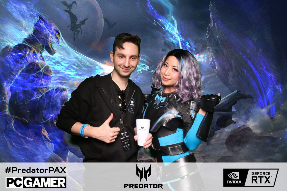 Pax East Green Screen Photo Booth