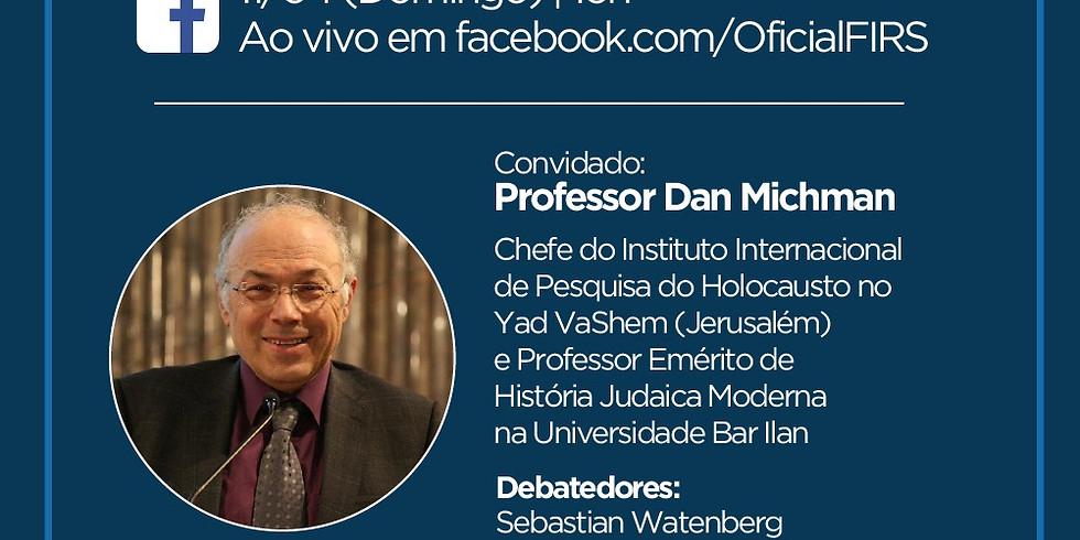 Evento especial de Iom Hashoah - Professor Dan Michman, do Yad Vashem