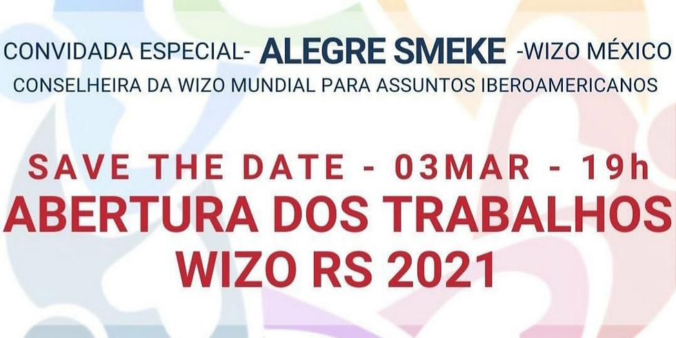 """""""Abertura dos Trabalhos WIZO 2021"""""""