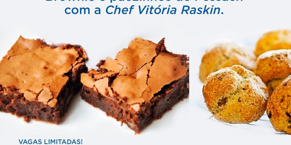 Brownie e pãezinhos de Pessach com a Chef Vitória Raskin