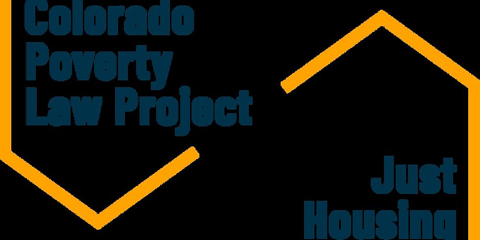 Defensa al desalojo residencial en Colorado: Conceptos básicos para abogados voluntarios