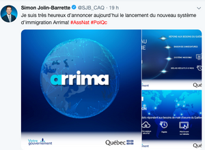 Lancement ARRIMA - PGMI