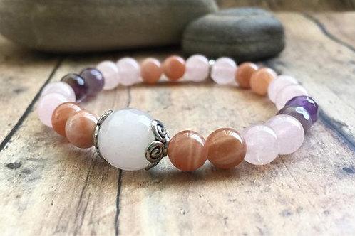 Moonstone Pregnancy Bracelet