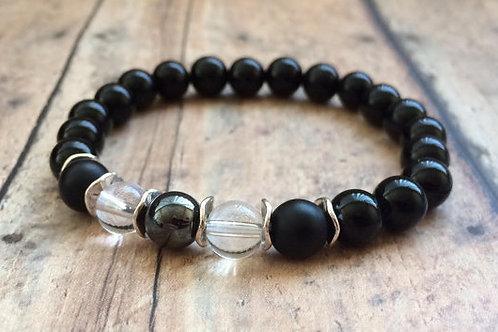 Onyx Negative Energy Protection Bracelet