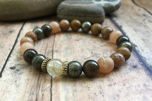 Protective energy bracelet
