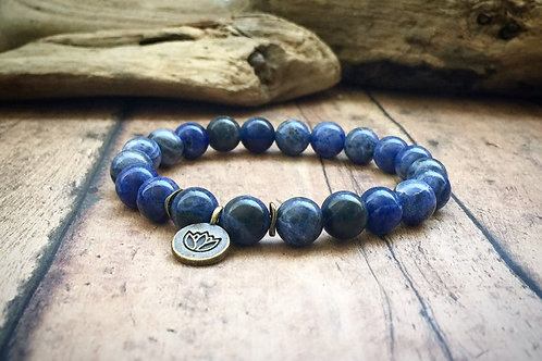 Sodalite Intuition Bracelet
